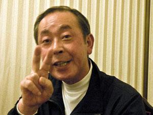 2011年 大物賞イワナ 松長寿司の大将
