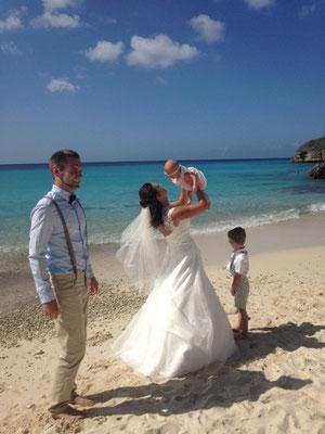 trauung-wedding-hochzeit-karibik-curacao-heirat-strand-kinder
