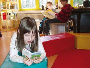 Für Leseratten ein Paradies – die Schulbücherei