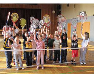 Alle Kinder lieben Tennis