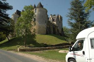 Le château de Fairac (vallée de la Dordogne)