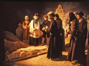 1er juillet 1764, enterrement de Jeanne Boulet