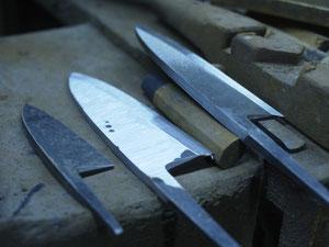 japanese handmade deba knife