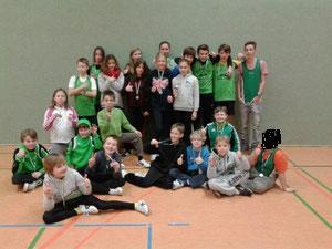 Die Mannschaft vom Herdecker Kanu-Club