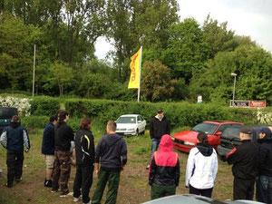 """Workshop-Reihe """"Selbstschutz am und im Kfz"""", Mai 2013 in Hanau"""