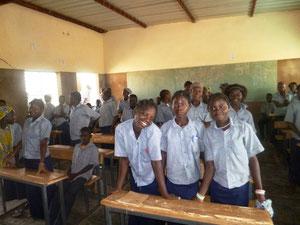In einer Schulklasse