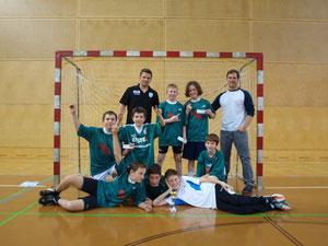 Die Bernoulli Handballer und Teamspieler Conny Wilczynski