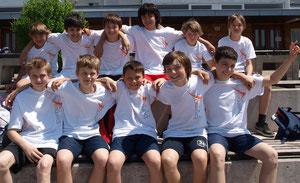 Das Bernoulli-Leichtathletikteam