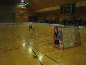 Penalty durch P. Miglinci