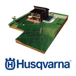 Installation, Begrenzungskabel, Automower, Husqvarna