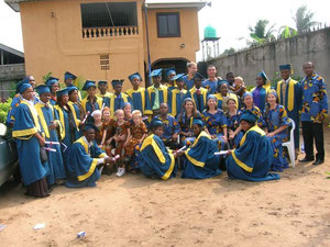 July 2008 - Our home church sent a team to participate in the 1st graduation of CBS.