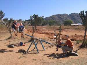 Playground at the YWAM campus near Jos