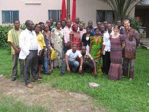 July 2010 - After staffing in 2 previous DTS's, Eric & Cindy led their first DTS Class with YWAM in Port Harcourt.