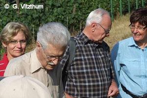 Exkursion mit Manfred Heinz