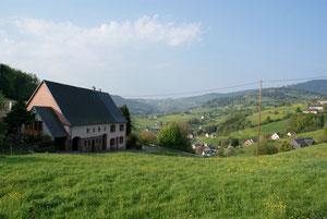 Orbey, vue depuis le Col du Bermont