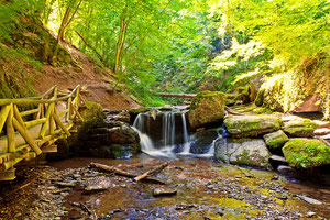 Wasserfall Ehrbachklamm