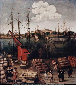 Riga in de 17e eeuw