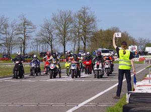 Départ sur la piste de l'ELMC - www.elmc.fr