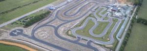Circuit de 1350 m homologué CIK/FIA