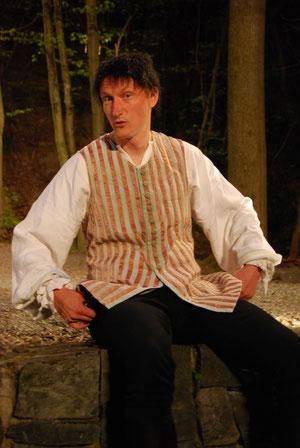 """Andreas Söhnel alias """"Truffaldino""""."""