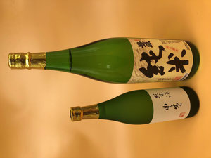 津屋崎の地酒「豊盛 純米酒」