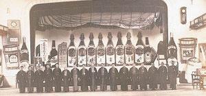 大正末期には津屋崎・福間両町にまたがる第二工場も設けましたが、日露戦争などの影響で昭和十六年(一九四一)、第二工場は閉鎖しました。