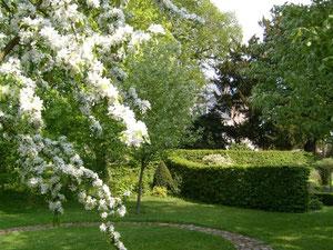 petit jardin à la française creuse somme