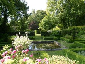 jardin à la française bassin amiens somme