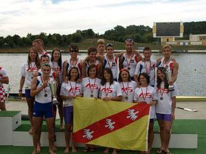 Les universitaires Lorraine récompensés aux Championnats d'Europe à Poznan (POL)