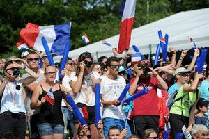 Les supporters Gérômois se sont déplacés en nombre !!