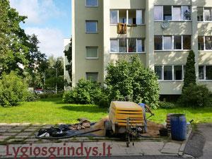 grindu betonavimas akcija