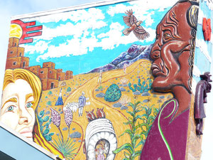 Wall mural, Albuquerque, New Mexico