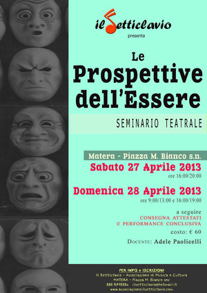 Seminario di Teatro a Matera