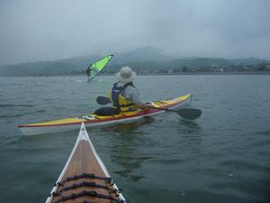 T森艇とウィンドサーフィン