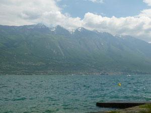 Ankunft am Lago di Garda
