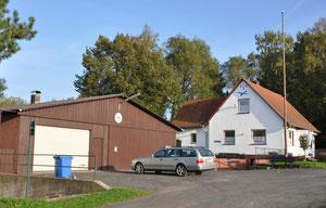 ELV-Vereinsheim mit Werkstatt