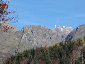 Pic du Midi vu depuis le Lienz