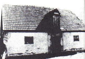 Burića štala, u to vrijeme najveća zgrada u Garevcu