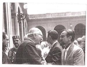 Kardinal Seper i Mirko Vidovic