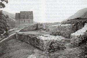 Ostaci zidina Bobovca