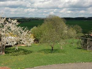 Blick nach Rudersdorf