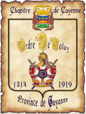 Bannière du chapitre d'Evreux
