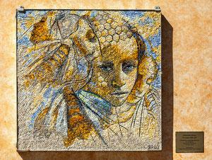 Tornareccio, mosaico