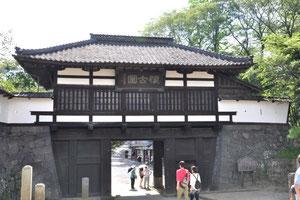 小諸城址懐古園の三の門