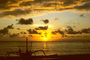 BALI - Sonnenuntergang -