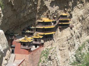 Das hängende Kloster bei Datong