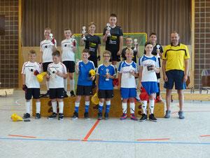 Siegerehrung Helmut-Walter-Pokal U13