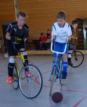 U13 - Fabian Rapp links, Yannik Flaig rechts