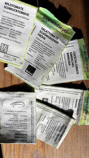 verschiedene Tomatensorten für den maitre-mobil Garten