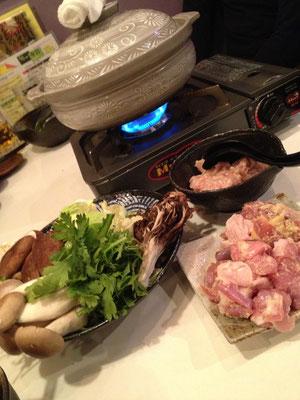 うまいゾ「虎視眈々 地鶏鍋」